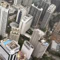 The city around the hotel